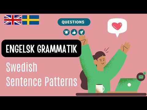Learn Swedish: English-Swedish: Engelska Svenska: Common Questions: Lär dig svenska, Basic Lesson