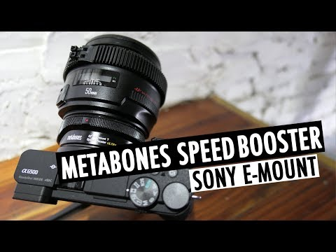 metabones-speed-booster-w/-sony-a6500- -e-mount- -rehaalev