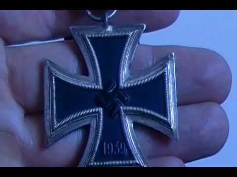 WW2 Iron Cross Second Class German Medal  Vet Souviner