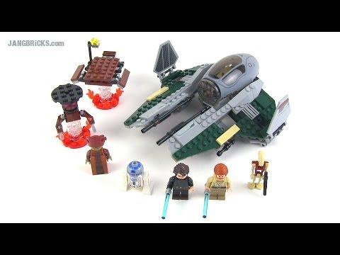 LEGO Star Wars Anakin's Jedi Interceptor set 9494 reviewed ...