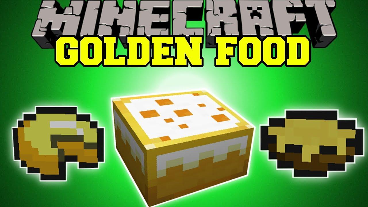 Minecraft more golden food new golden enchanted food for Cuisine minecraft