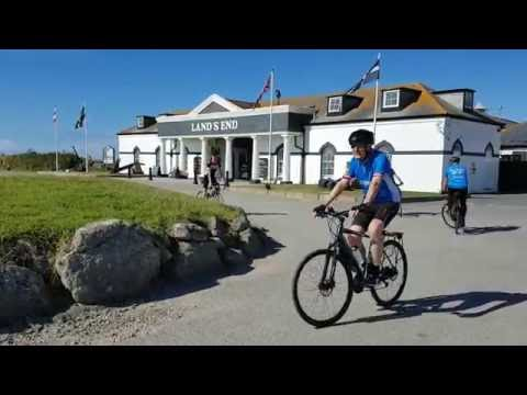 Land's End to John O'Groats 2016, in aid of Sustrans, with Saddle Skedaddle