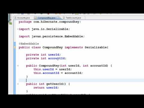 java-hibernate-tutorial-part-13---compound-primary-key