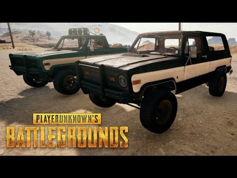 PUBG (NEW) Desert Map - Truck Convoy Gone WRONG