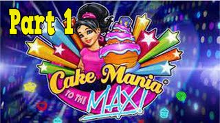 Cake Mania: To the Max Playthrough part 1