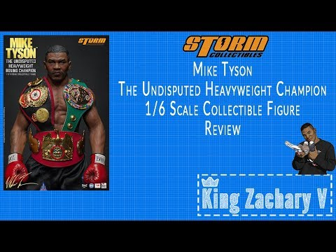 Storm Collectibles New 1/6 Scale Mike Tyson The Undisputed Heavyweight Champion Figure Review
