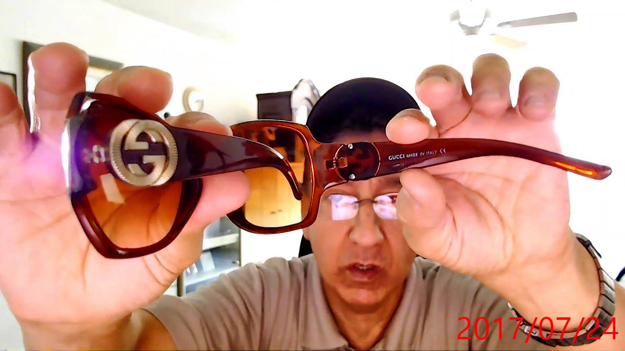 bd92c44e160 Gucci Sunglasses up on ebay now 7-24-2017 - YouTube