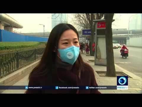 Heavy Smog Shrouding Chinese Capital Beijing