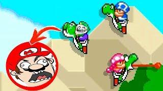 LUIGI TROLLEA A MARIO! 😂 Super Mario Maker 2 Multijugador