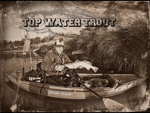Wintertime Topwater Trout!