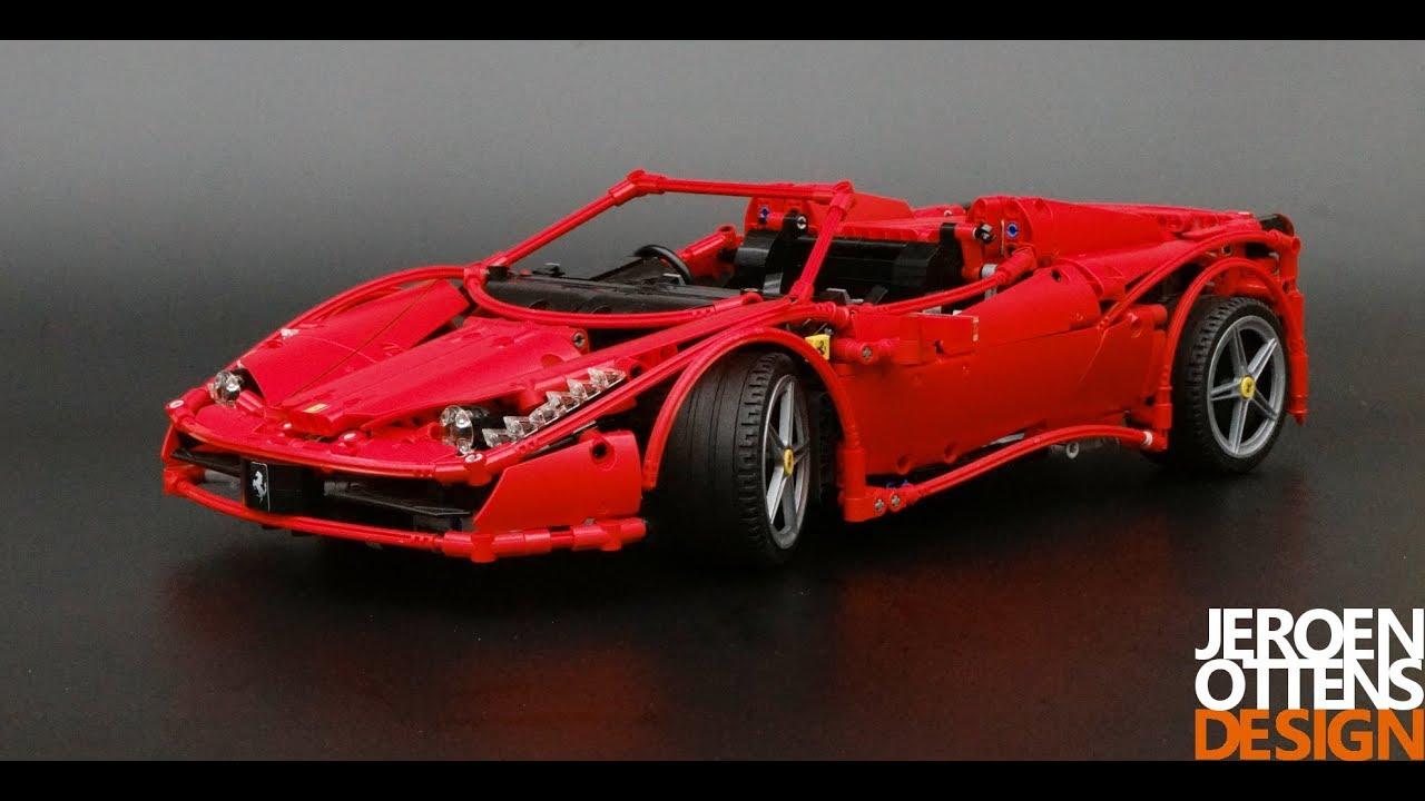 Ferrari F40 For Sale >> LEGO Technic 1:10 replica of the Ferrari 458 Spider - YouTube