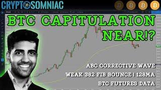 Will BTC Go Below $3000? | Govt Shutdown Affecting BTC Futures Approval? | BTC Technical Analysis