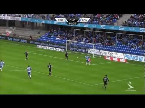 Highlights: Esbjerg FB - F.C. København (2-2) 07.10.12
