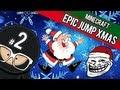 Minecraft Epic Jump Custom Map - Christmas Trolling Edition Part 2