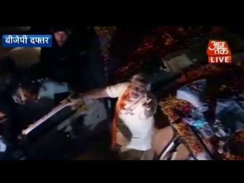 Varanasi celebrates Narendra Modi