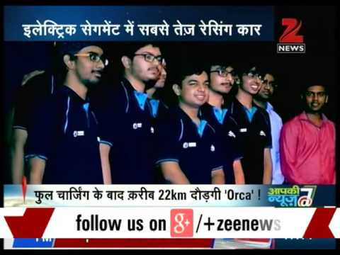 IIT Bombay : Students made fastest electric racing car