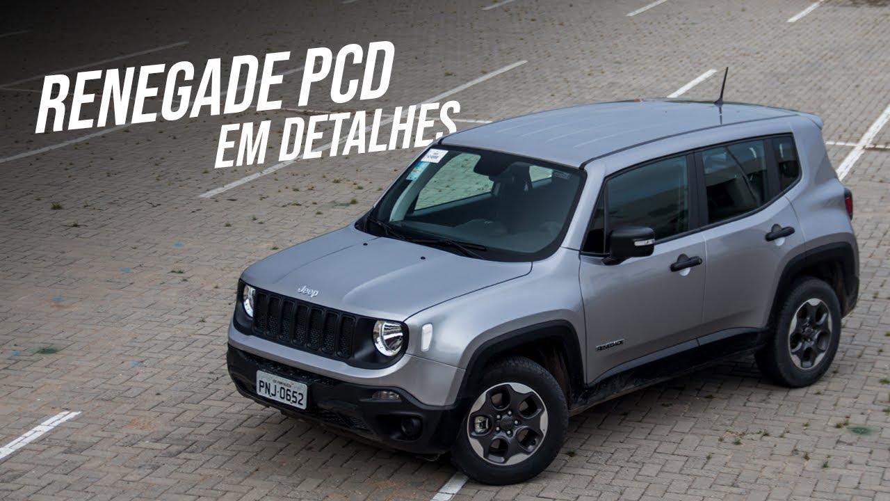 Todos Os Detalhes Do Jeep Renegade Pcd 2019 Youtube