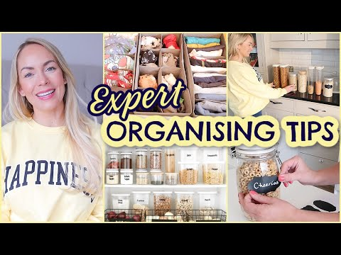 13 PROFESSIONAL ORGANISING TIPS THAT WORK!  HABITS FOR KEEPING A CLEAN HOME