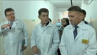 Детскую больницу Уссурийска посетил руководитель края Олег Кожемяко