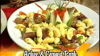 Ackee & Corned Pork - Grace Foods Creative Cooking Traditional Jamaican Dishes