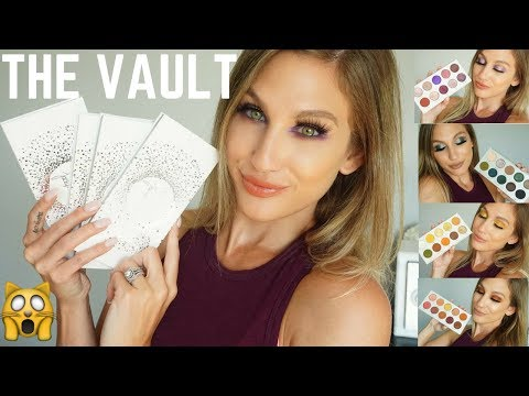 MORPHE X JACLYN HILL THE VAULT │4 LOOKS + SWATCHES
