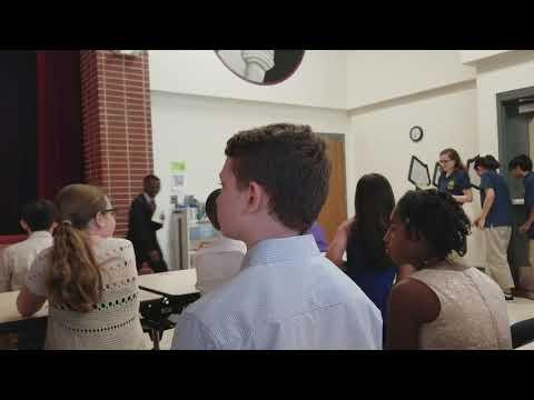 NJHS Ceremony - Reagan Middle School