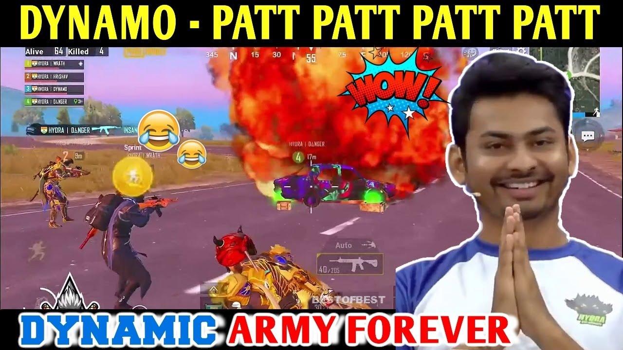 DYNAMO - PATT PATT PATT PATT | PUBG MOBILE | BEST OF BEST
