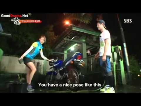 Kim Hyun Joong – Uee  [That Winter The Wind Blows Parody] (Eng Sub)