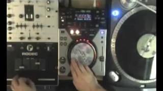 pioneer cdj 400 scratch demo