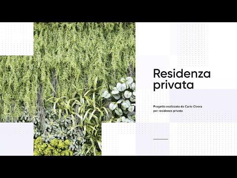 Progetto | Giardino verticale artificiale – Milano