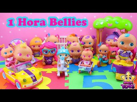 1 HORA de VIDEO de los Bebs Bellies y Nenuco