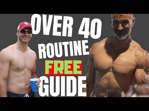 Best Routine For Men Over 40 | Beginners