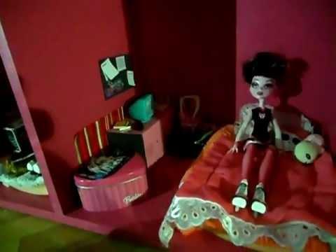 Casa de mu ecas monster high youtube - Casa de monster high ...