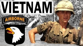 The Vietnam War - Airborne Division_Full Length Historical Documentary_Combat Footages in Color