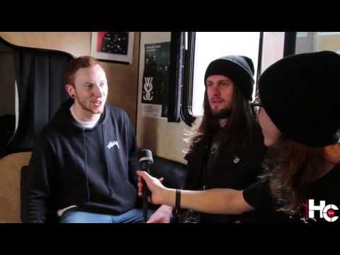 While she sleeps Interview, Lawrence Taylor, Mat Welsh at Metropolis, 15-04-2013, Montreal