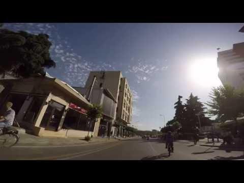 Tirana Skanderbeg Square drive