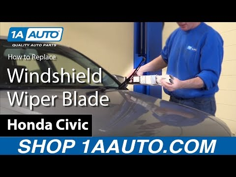 How to Replace Windshield Wiper Blades 04-08 Audi A4