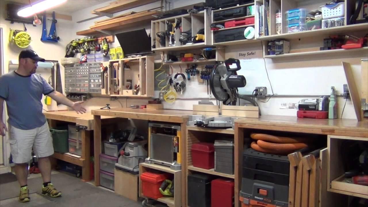 Garage Workshop Tour Youtube