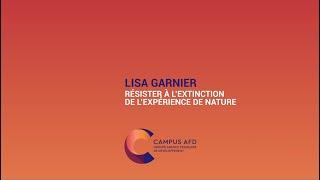 Des nouvelles de Demain : Lisa Garnier