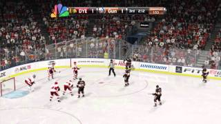 NHL® 15 game vs Jl9191 he requested it up Thumbnail