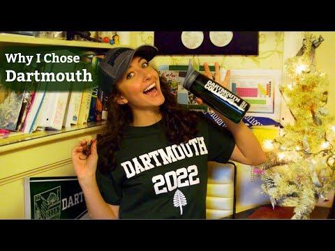Why I Picked Dartmouth!!