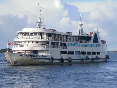 Viagem de Barco Navio Amazon Star Belem Manaus Rio Amazonas