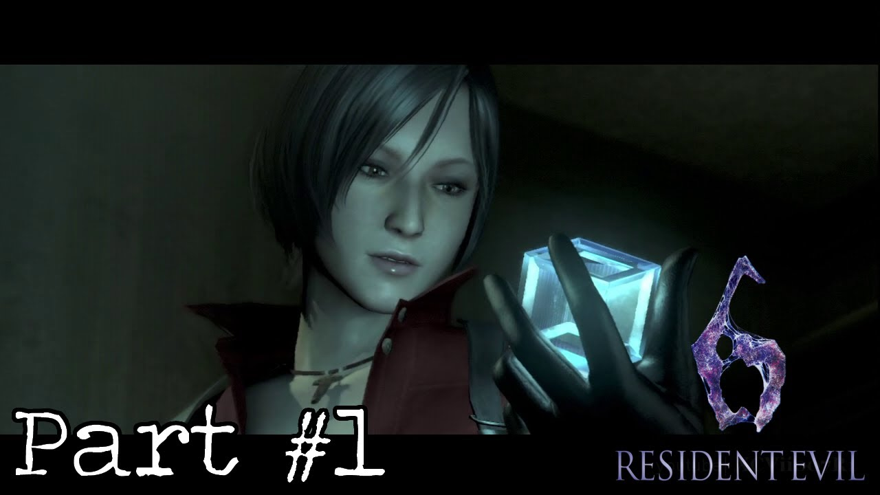 Resident Evil 6 Ada Campaign Walkthrough Part 1 Chapter 1 1 Youtube