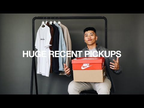 HAUL / Recent Pickups: Jackets, Tees, & Sneakers