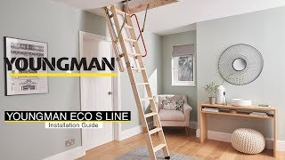 How to install the Youngman Eco S Line Timber Loft Ladder