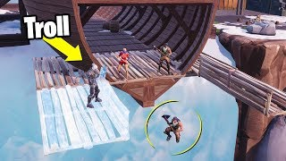 TROLLEO a NOOBS EDITANDOLES el SUELO😂😂 - Fortnite Battle Royale