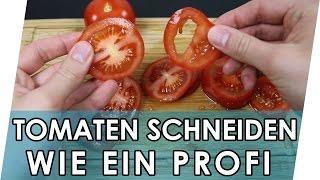 Tomaten schneiden wie ein Profi | Geniale Fakten, Tipps & Tricks