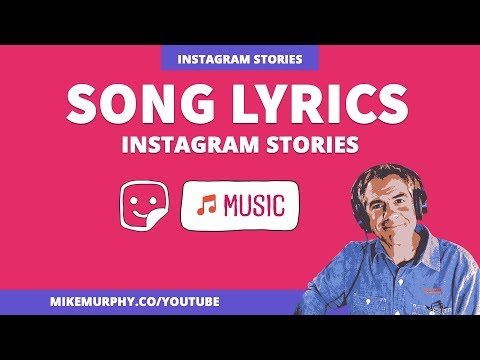 How To Add Song Lyrics in Instagram Stories