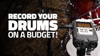 Record Your Drums With ONE Microphone!