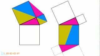 レオナルド・ダ・ヴィンチによる「ピタゴラスの定理(三平方の定理)」...